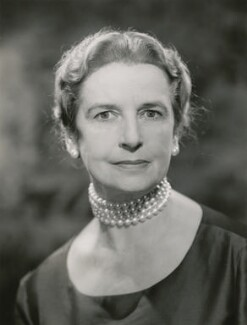 Joan Helen Vickers, Baroness Vickers, by Walter Bird - NPG x185830
