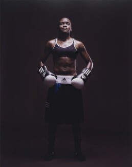 Nicola Adams, by Kate Peters - NPG P1831