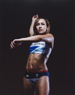 Jessica Ennis-Hill, by Kate Peters - NPG P1832