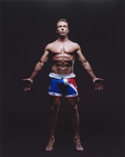 Chris Hoy, by Kate Peters - NPG P1834