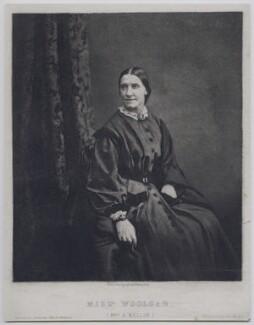 Sarah Jane Mellon (née Woolgar), after Horatio Nelson King - NPG x137372