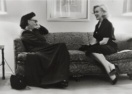 Edith Sitwell; Marilyn Monroe, by George Silk - NPG x137375