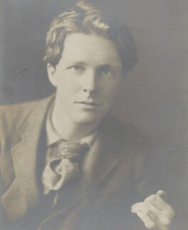 Rupert Brooke, by Sherrill Schell, April 1913 - NPG P1829 - © reserved; collection National Portrait Gallery, London