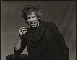 Keith Richards, by Bob Carlos Clarke - NPG x137385