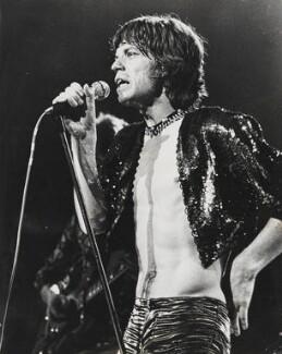 Mick Jagger, by Bob Carlos Clarke - NPG x137390