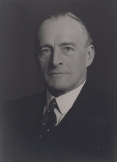 Sir (Alexander) Frederick Whyte, by Walter Stoneman - NPG x186136