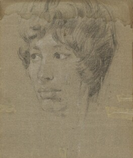 Unknown sitter, by Stephen Ward, 1960 or 1961 - NPG 5720a - © reserved; collection National Portrait Gallery, London