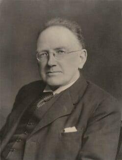 Sir Ifor Williams, by Walter Stoneman - NPG x186183
