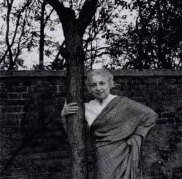 Vijaya Lakshmi Pandit (née Sarup Kumari Nehru), By Ida Kar - NPG x137396