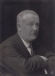 Sir John Bowring Wimble, by Walter Stoneman - NPG x186206