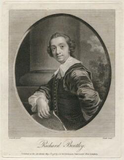 Richard Bentley, by James Heath, after  John Giles Eccardt - NPG D42725