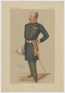 Sir James Charlemagne Dormer, printed by Vincent Brooks, Day & Son, after  Hon. Mary Catherine Rees (née Dormer) ('MR' and 'Bint') - NPG D42748