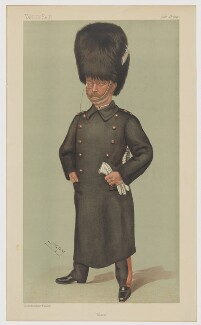 Lord (Albert) Edward Wilfred Gleichen, printed by Vincent Brooks, Day & Son, after  Sir Leslie Ward - NPG D42750