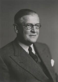 Sir Archibald Hector McIndoe, by Walter Stoneman, 1948 - NPG x186362 - © National Portrait Gallery, London