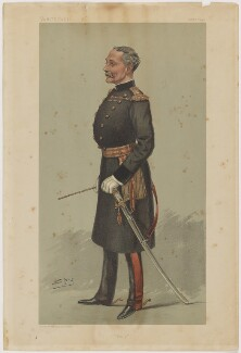 Sir Reginald Pole-Carew, printed by Vincent Brooks, Day & Son, after  Sir Leslie Ward - NPG D42754