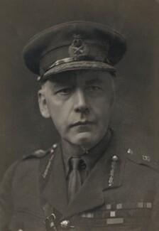 Sir (Cecil Frederick) Nevil Macready, 1st Bt, by Walter Stoneman - NPG x186413