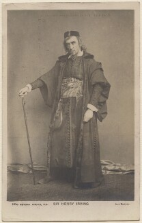 Sir Henry Irving as Shylock in 'The Merchant of Venice', by Edward Lyddell Sawyer, published by  Rotary Photographic Co Ltd, published after 1901 (1879) - NPG  - © National Portrait Gallery, London