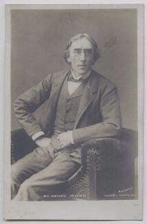 Sir Henry Irving, by Herbert Rose Barraud, published by  Rotary Photographic Co Ltd - NPG Ax137404