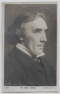 Sir Henry Irving, by Edward Lyddell Sawyer, published by  Rotary Photographic Co Ltd - NPG Ax137405
