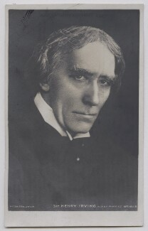 Sir Henry Irving, by Ernest Walter Histed, published by  Rotary Photographic Co Ltd - NPG Ax137406