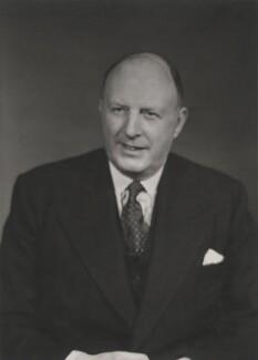 Frederick Robert Hoyer Millar, 1st Baron Inchyra, by Walter Stoneman - NPG x186636