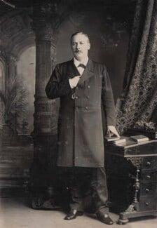 Evelyn Baring, 1st Earl of Cromer, by Alexander Bassano - NPG P1700(44d)