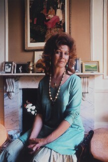 Edna O'Brien, by Clay Perry, 1979 - NPG x137409 - © Clay Perry
