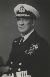 Edward Ratcliffe Garth Russell Evans, 1st Baron Mountevans, by Walter Stoneman, 1947 - NPG x186753 - © National Portrait Gallery, London