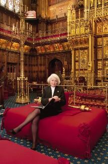 Helene Valerie Hayman, Baroness Hayman, by Anita Corbin - NPG x137418