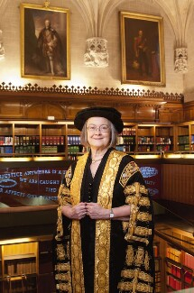 Brenda Hale, Baroness Hale of Richmond, by Anita Corbin - NPG x137419