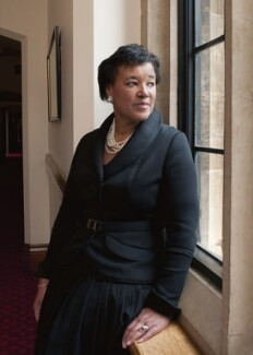 Patricia Janet Scotland, Baroness Scotland of Asthal, by Anita Corbin - NPG x137424
