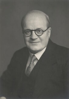 Sir John Ernest Neale, by Walter Stoneman - NPG x186812