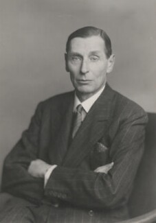 Sir Philip Bouverie Bowyer Nichols, by Walter Stoneman - NPG x186843