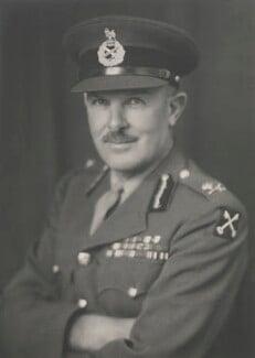 Sir Cameron Gordon Graham Nicholson, by Walter Stoneman - NPG x186846