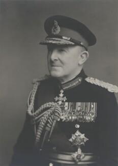 Sir Cameron Gordon Graham Nicholson, by Walter Stoneman - NPG x186847
