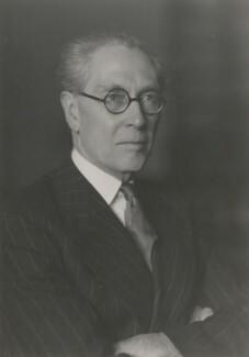 Philip John Noel-Baker, Baron Noel-Baker, by Walter Stoneman - NPG x186865