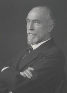 Montagu Collet Norman, 1st Baron Norman, by Walter Stoneman, 1930 - NPG x186874 - © National Portrait Gallery, London