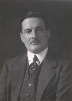 William Bingham Compton, 6th Marquess of Northampton, by Walter Stoneman - NPG x186884