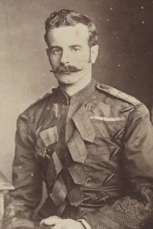 Douglas Mackinnon Baillie Hamilton Cochrane, 12th Earl Dundonald, by Unknown photographer - NPG P1700(45e)
