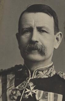 Sir Charles Warren, by Alexander Bassano - NPG P1700(46a)