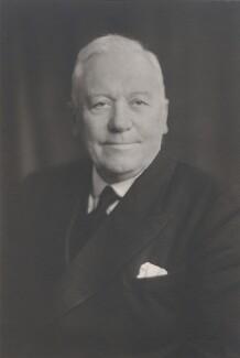 Sir John William Lambton Oliver, by Walter Stoneman, 1945 - NPG x186930 - © National Portrait Gallery, London