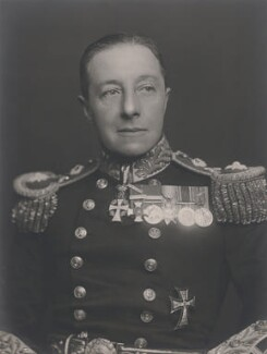 Edward Oliver Brudenell Seymour Osborne, by Walter Stoneman - NPG x186951