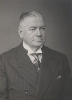 Sir Goronwy Owen, by Walter Stoneman - NPG x186954
