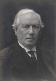 Herbert Henry Asquith, 1st Earl of Oxford and Asquith, by Walter Stoneman - NPG x186955