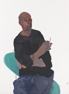 Nick Hornby, by Humphrey Ocean - NPG 6970