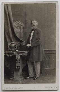 Tom Taylor, by Southwell Brothers - NPG Ax7534