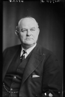 Sir Albert Gerald Stern, by Walter Stoneman - NPG x187117