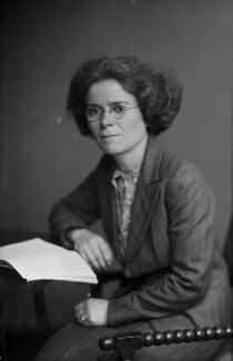 Dame Kathleen Lonsdale (née Yardley), by Walter Stoneman - NPG x187172