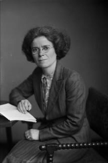 Dame Kathleen Lonsdale (née Yardley), by Walter Stoneman - NPG x187173