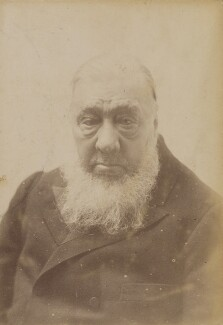 Stephanus Johannes Paulus ('Paul') Kruger, by Unknown photographer, 1901 or before - NPG P1700(60b) - © National Portrait Gallery, London